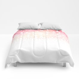 Circle Descent Rose Gold Comforters