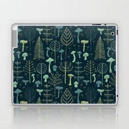 Magic Forest Green Laptop & iPad Skin
