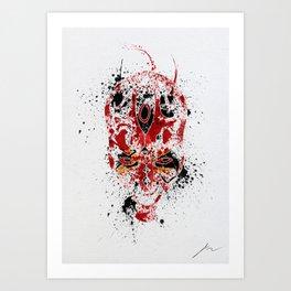 Red Rage Art Print