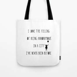 Annonymous Tote Bag
