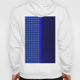led blue Hoody