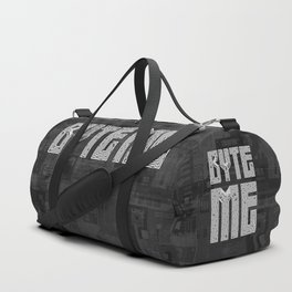 Byte Me Duffle Bag