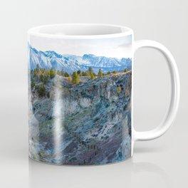 Eastern Sierra Nevada Journey, Hot Creek Coffee Mug