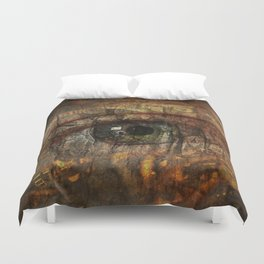 Gears and Nature Duvet Cover