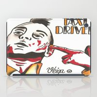 taxi driver iPad Cases featuring Taxi Driver #3 by @VEIGATATTOOER