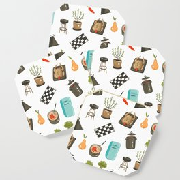 Retro Cooking Coaster