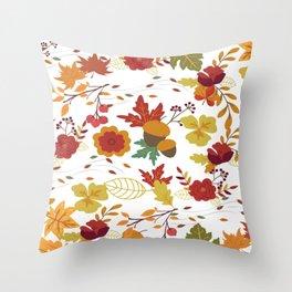 Summer fall Throw Pillow