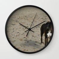 matty healy Wall Clocks featuring Matty by Laura Gallagher