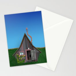 Old Small House Stationery Cards