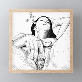 Squirter Framed Mini Art Print