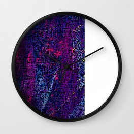 Doodlez on Chaos One Wall Clock