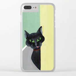 Mom, I am Hungry. Clear iPhone Case
