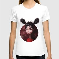 bjork T-shirts featuring Caricature for a Bjork by Alexander Novoseltsev