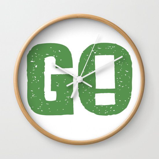 GO! Wall Clock