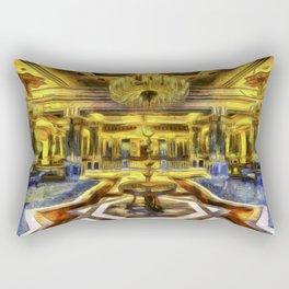 Vincent Van Gogh Palace Rectangular Pillow