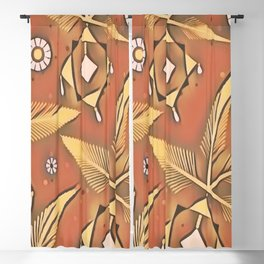 Tribal Pattern Blackout Curtain