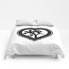 Heart of the Hi-Desert™ Joshua Tree by CREYES Comforters