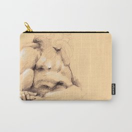 Fontana dei Quattro Fiumi (River God Study) Carry-All Pouch