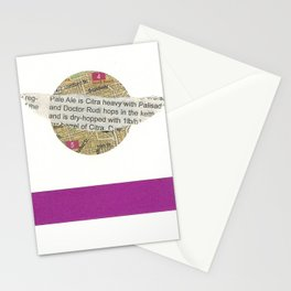 5X7 Trip / Planet Stationery Cards