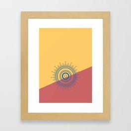 Circles #2 Framed Art Print