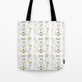 Golden Wedding Tori Beth Tote Bag