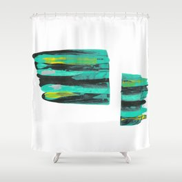 Leak Shower Curtain