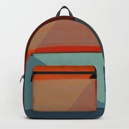 Orange Diamonds Backpack