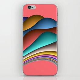 fluid -70lachs- iPhone Skin