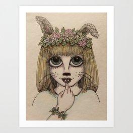 Bunny Girl Art Print