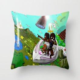 Epic Adventures Throw Pillow