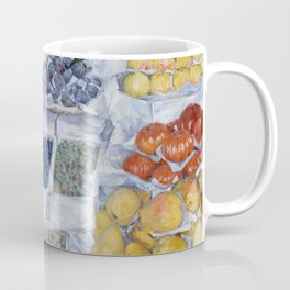 Gustave Caillebotte - Fruit Displayed on a Stand Coffee Mug