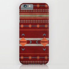Efinity Pattern Red iPhone 6s Slim Case