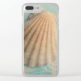 She sells sea shells... Clear iPhone Case