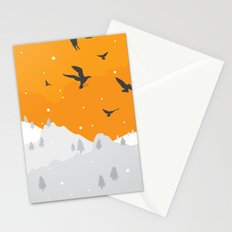 Winter Hills Stationery Cards