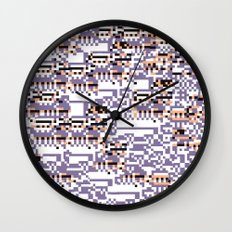 content-aware missingno Wall Clock