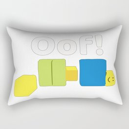 Roblox Oof! Gaming Noob Rectangular Pillow