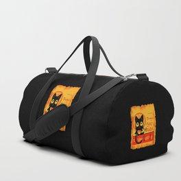 Chat Magique Duffle Bag