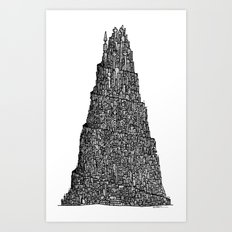 The Human Anthill Art Print
