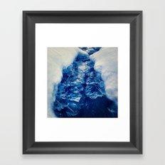 The Ice Bridge Framed Art Print