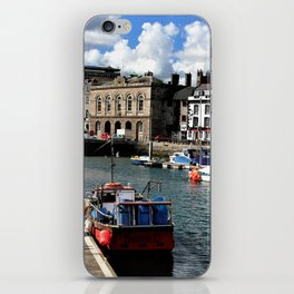 Plymouth Devon Water Paint iPhone Skin