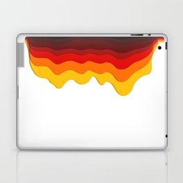 Fire wave Laptop & iPad Skin