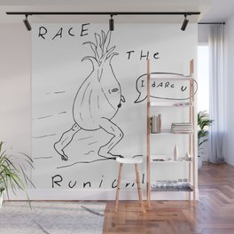 I dare you! Wall Mural