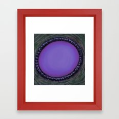 Random and Purpose Framed Art Print