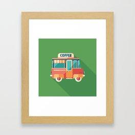 Coffee Van Framed Art Print