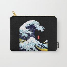 The Great Wave Off Kanagawa Katsushika Hokusai Carry-All Pouch