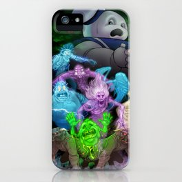 Bustin' Ghosts iPhone Case
