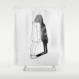 Reality. Shower Curtain