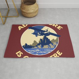 Adventure is out there! Rug