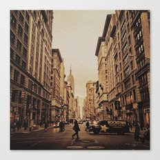 5th Ave Canvas Print