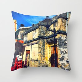 Chinese House, Western Light Throw Pillow